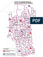 Harta Centrelor de permanenta Arges