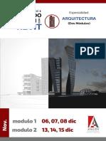 Brochure Revit Arquitectura Completo