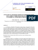 2-Analytical Investigations on Stiffened Steel and Carbon Fibre Reinforced Polymer Cylindrical Submarine Pressure Hull