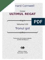 B.cornwell – [UR] 8 Tronul Gol