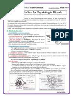 27. Généralités Sur La Physiologie Rénale