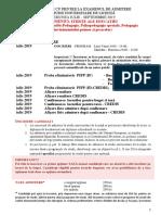 Precizari Admitere Studii Licenta Stiinte Ale Educatiei Martie 2019