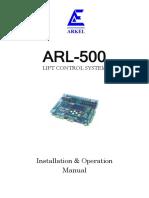 Arl-500 Installation & Operation Manual v19
