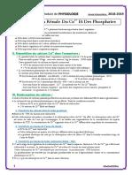 34. Réabsorption Rénale Du Calcium Et Des Phosphates
