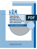 HRM Rapid Assessment Tool 0