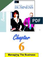 5. Chptr 6 Managing Business
