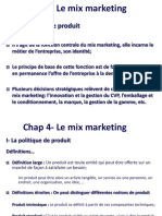 MiX MARKETING Produit chap 4.ppt