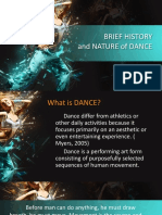 2019 Brief History and Nature of Dance