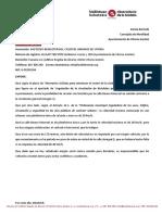 (8/2019) Señal 20km/h en la calle  Bueno Monreal