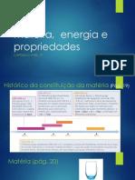 2 -Matéria, Energia e Propriedades
