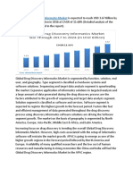 Global Drug Discovery Informatics Market