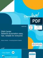 Cisco DNA Data Center