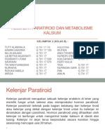 Kelenjar Paratiroid Dan Metabolisme Kalsium