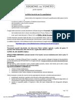 Decreto Regione Veneto per stato di crisi post acqua alta, 13 novembre 2019