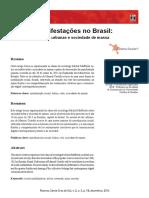 Manifestações No Brasil Tribos Urbanas e Sociedade de Massa