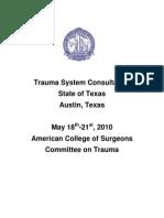 ACS Texas Trauma System Consultation Report_Final