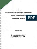 Expediente de Puente Peatonal - Lainez-Lozada