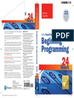 9780135937549 Perry Beginning Programming 24hrs STY BN Cover
