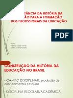 2) FFHE - NEVES COSTA - A IMPORT Hist Educ p Formação Profiss