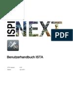ISTA UserManual de-De