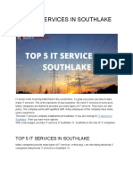 Top 5 It Services in Southlake