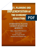 Policy, Planning and Implementation of the Economic Subsector.pdf