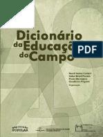 Livro - Dicionário da Educação do Campo - Caldart 2012