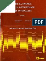 Vol 1 Lire La Musique Par La Connaissance Des Intervalles