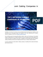 Top 5 Network Cabling Companies in Southlake