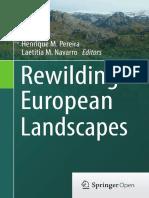 Rewilding European Landscape