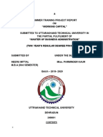 Project Report ON FINANCIAL PLANING