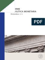 IPoM de Diciembre 2019