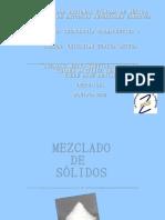 TF1 Mezclado de Solidos
