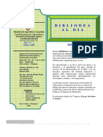 2009 - Biblio DEA Al Dia - Nº 1 (Feb. 2009)