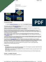 Advance Estimation - Investigate Anisotropy