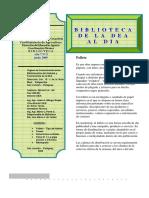 2009 - Biblioteca Al Dia - Nº 5 Junio 2009)