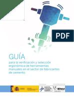 Guía Para La Verificación y Selección Ergonomica de Herramientas Manuales