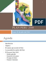 10-Presentacion Plan Peru 2040