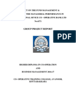 A Project on the Fund Management