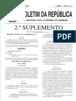 Constituição da república de Moçambique