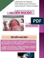 4. Recien Nacido