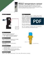 Triscan Tech 8626 Water Temperature Sensor Gb 0