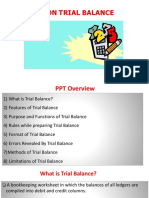 Ppt on Trial Balance