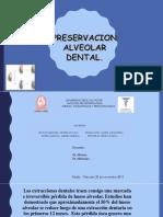 preservacion alveolar