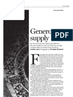 financial times - generous supply