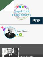 Jean Piaget Cognitive Development Powerpoint