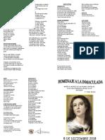 Cancionero Inmaculada Imprmir