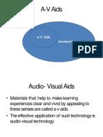 Audio- Visual Aids