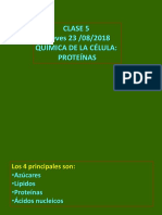 Clase 5 Quimica de La Célula Proteinas Alu