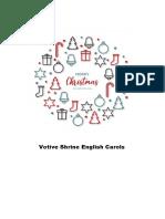 Votive Shrine English Carols